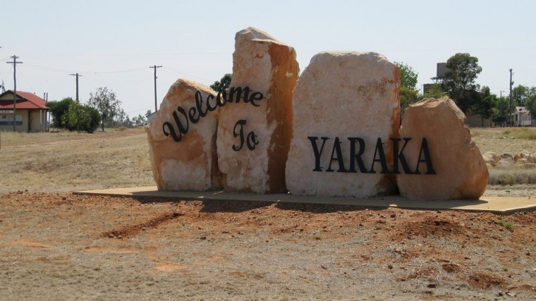 Yaraka is a small town with a population of 12 - visitors are very welcome