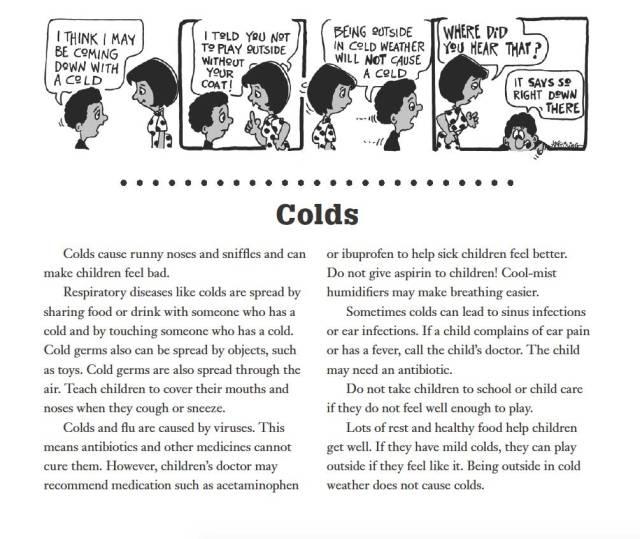 Cold info