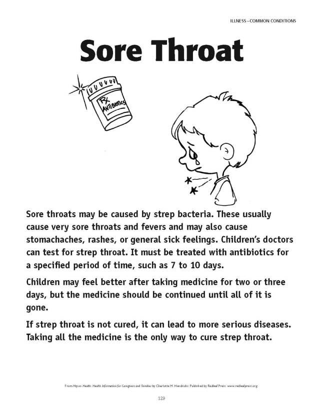 Sore throats