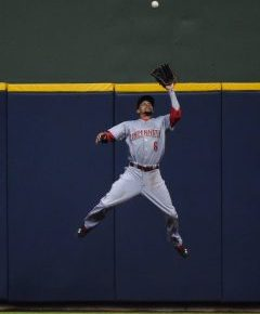 DRO: Which Reds Gold Glove finalist has best chance to win?
