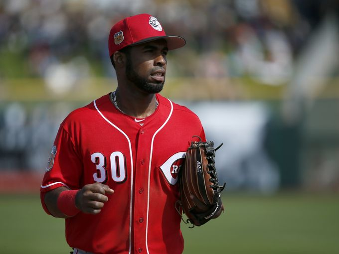 Arismendy Alcantara (Photo: Sam Greene, Cincinnati Enquirer.)
