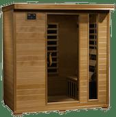 4.Person Hemlock Deluxe_low emf sauna