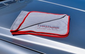 Redline Finish microfiber drying towel performs as good as it looks