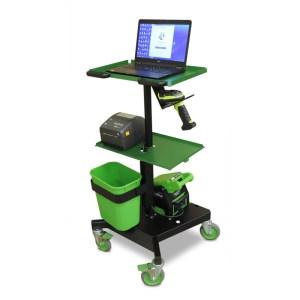 Newcastle LT Series Laptop Cart