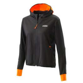 KTM WOMEN EMPHASIS ZIP HOODIE