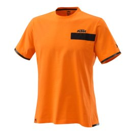 KTM PURE T-SHIRT ORANGE