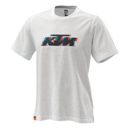 KTM RADICAL LOGO T-SHIRT WHITE
