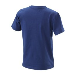 KTM KIDS RADICAL LOGO TEE BLUE