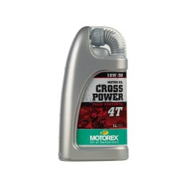 MOTOREX CROSSPOWER SYNTH 4T 10/50 OIL 1 LITRE