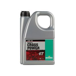 MOTOREX CROSSPOWER SYNTH 4T 10/50 OIL 4 LITRE