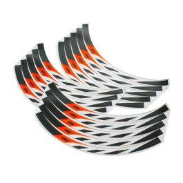 KTM WHEEL RIM STICKER KIT SX/EXC BLACK