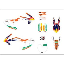 KTM FACTORY GRAPHICS KIT 65 SX 2016 ON