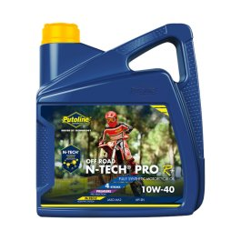 PUTOLINE OFF ROAD 10/40 N-TECH OIL 4 LITRE