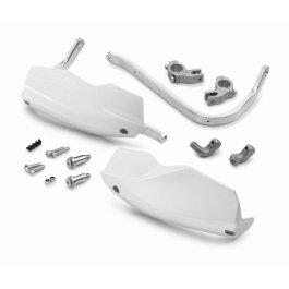 KTM ALUMINIUM HANDGUARDS WHITE SX/EXC