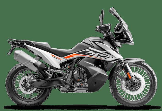 KTM 790 ADVENTURE 2020 WHITE