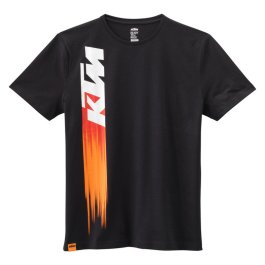 KTM FADED T-SHIRT BLACK