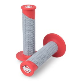 PROTAPER PILLOW TOP CLAMP ON GRIP RED/GREY