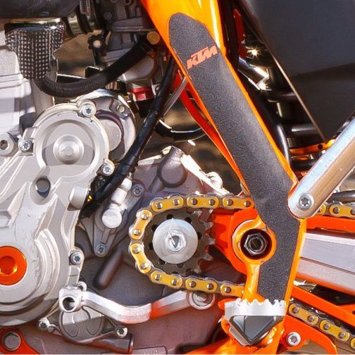 KTM FRAME PROTECTION STICKER SET SX/EXC 2011-2016