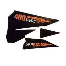 KTM REAR GRAPHIC DECALS 400 EXC 2007
