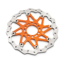 KTM WAVE BRAKE DISC ORANGE 125 DUKE 2011-2012