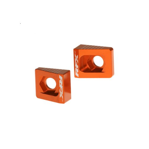 KTM REAR AXLE ADJUSTER BLOCKS 65 SX 2002-2015