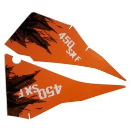 KTM REAR GRAPHIC DECALS 450 SX-F 2007