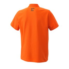KTM PURE RACING POLO SHIRT ORANGE