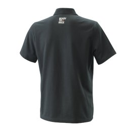 KTM PURE RACING POLO SHIRT BLACK