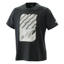 KTM RADICAL LOGO T-SHIRT BLACK