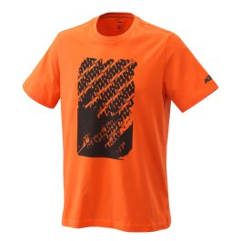KTM RADICAL LOGO T-SHIRT ORANGE