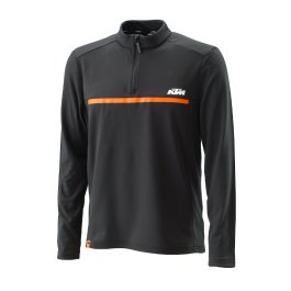 KTM UNBOUND HALF ZIP LONG SLEEVE SWEATER