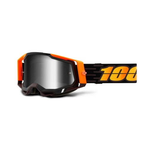 RACECRAFT 2 GOGGLE COSTUME 2 - MIRROR SILVER LENS