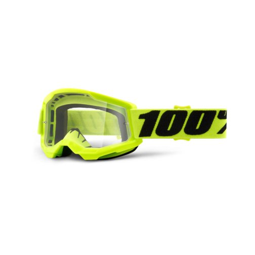 STRATA 2 YOUTH GOGGLE YELLOW - CLEAR LENS