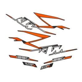 KTM CARBON GRAPHICS KIT SUPER DUKE R 2020 ON