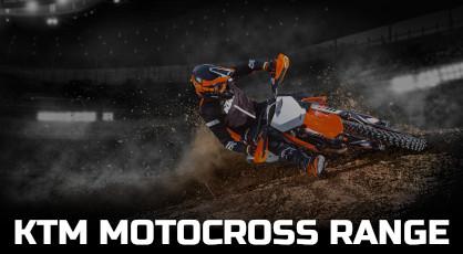 KTM MOTOCROSS RANGE