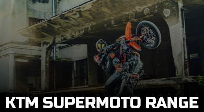 KTM SUPERMOTO RANGE