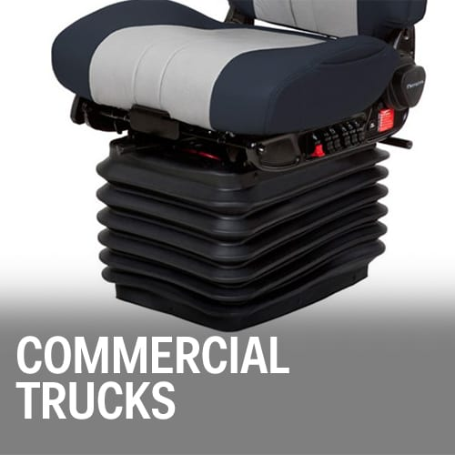 Commercial Trucks: Diesel fuel tanks, DFI tanks, body panels, dash panels, PVC shock absorbing seats
