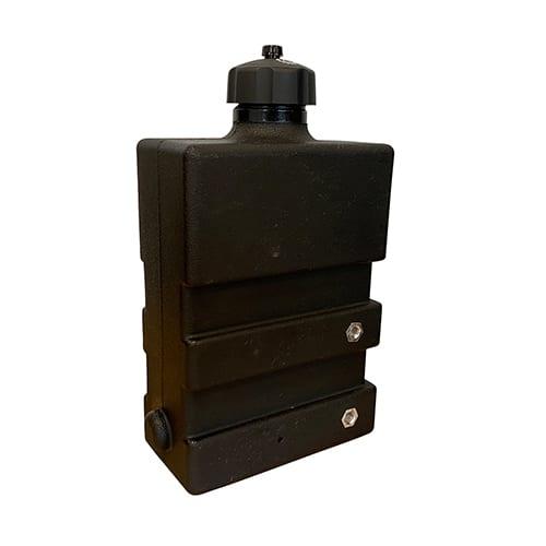 Rotomolded-nylon-hydraulic-fuel-tank-for-lawn-mower
