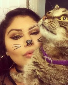Halloween Cats Makeup Look