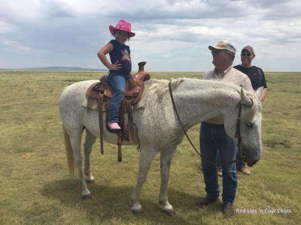 Yeehaw, cowgirl!