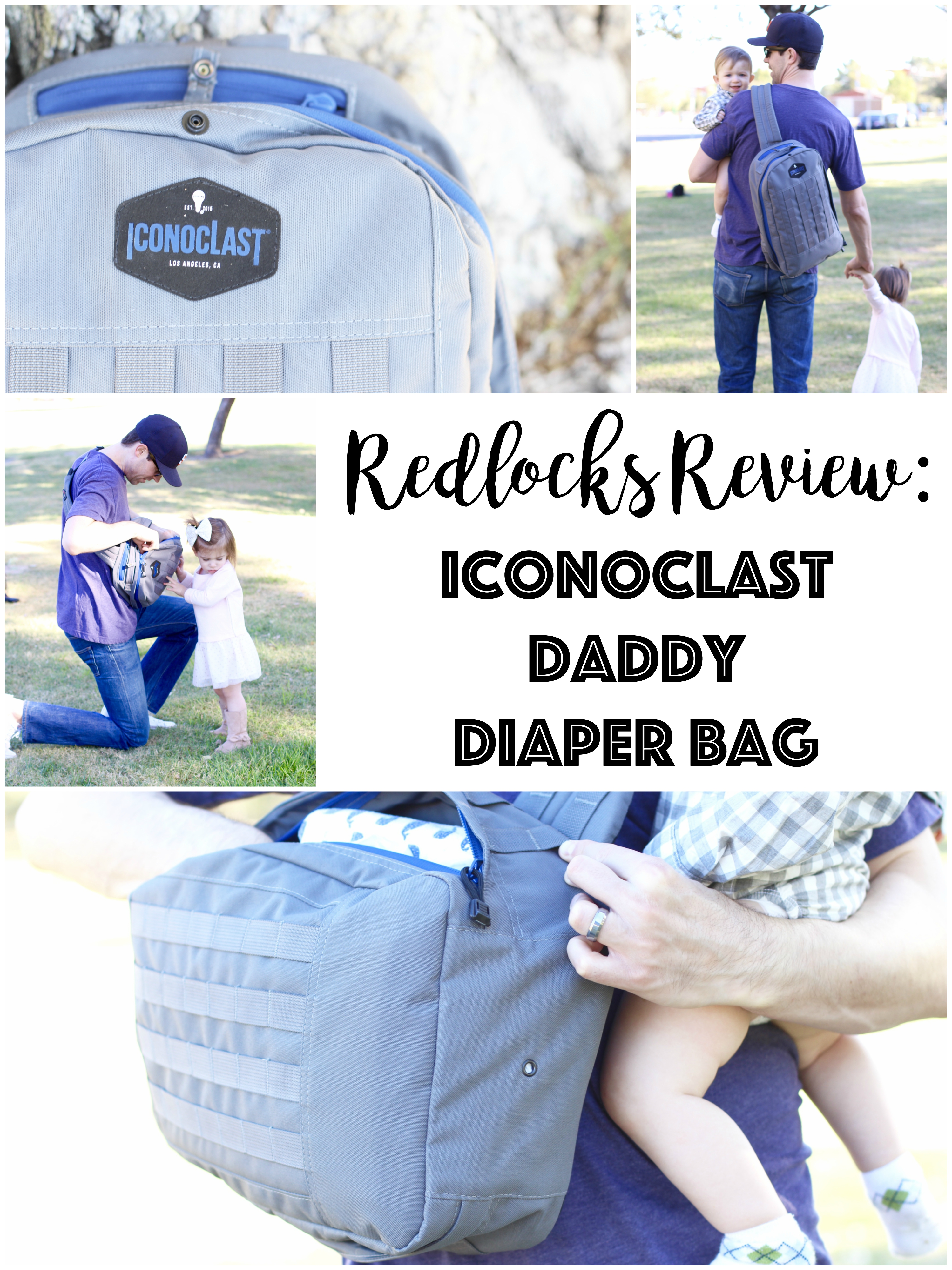 Redlocks Review: Iconoclast Dad Bags