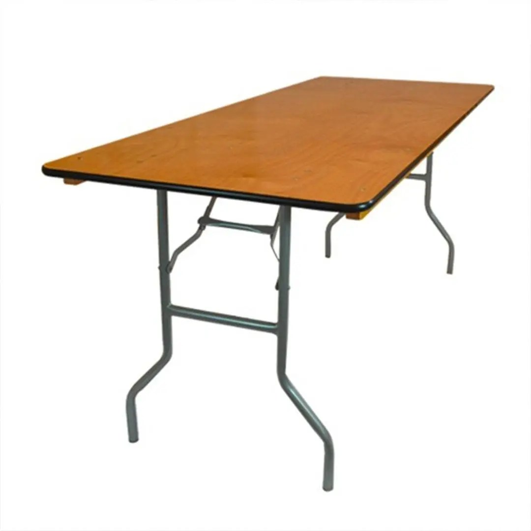 Standard Tables – Require Linen or Table Cloths