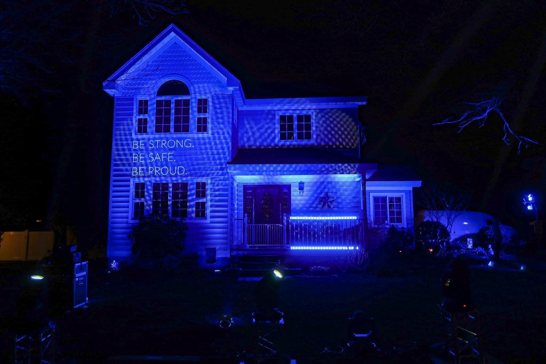 Light It Blue House