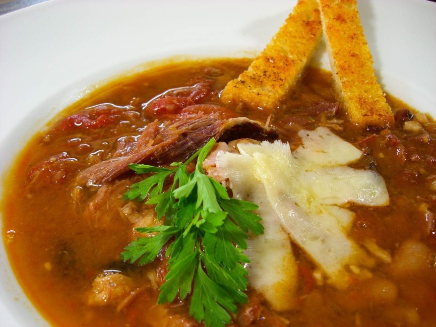 Honeybaked Ham and Bean Soup