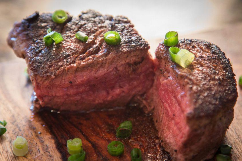 Cast Iron Filet Mignon Steak