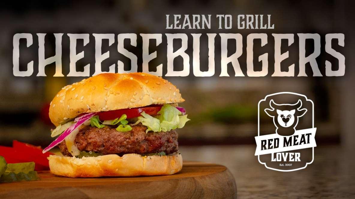 Grilled Hamburgers Video Recipe