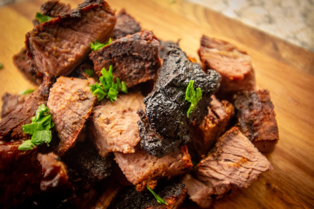 Burnt Ends without sauce