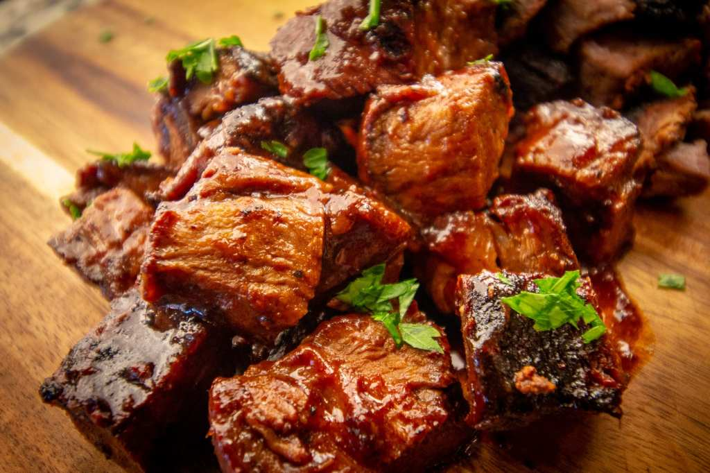 Smoked Wet Burnt End