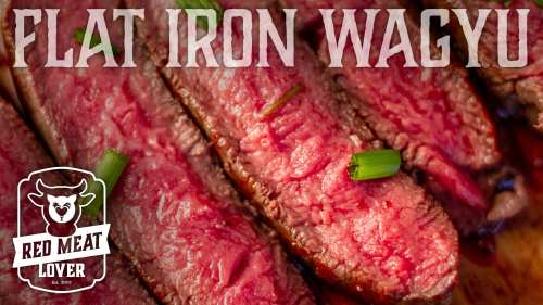 Flat Iron Wagyu Steak