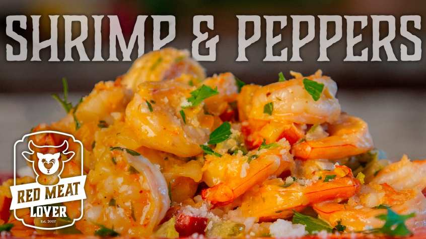 Creamy Garlic Shrimp
